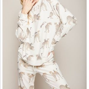 All Things Fabulous Cheetah Monkey Sweater
